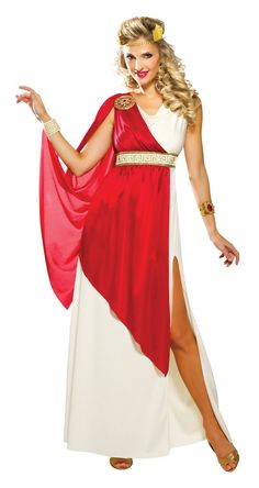 Get ready to rule the world in this Lady Caesar Costume! You will definitely look incredible in this Lady Caesar Costume featuring swanky dress with slit d Disney Costumes For Kids, Adult Costumes, Costumes For Women, Roman Costumes, Costumes Kids, Costume Ideas, Toga Romana, Diy Halloween Costumes For Kids, Costume Halloween