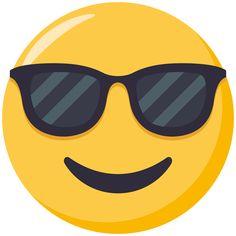 emoji cool anteojos