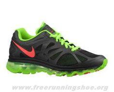 more photos 6e54d 7b30d Sale Cheap Mens Nike Air Max 2012 Black Electric Green White Bright Crimson  The Most Flexible Running Shoes
