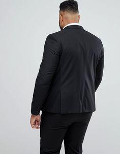 b0c7a2666d7 Heart   Dagger plus size skinny suit jacket