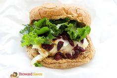Turkey Brie & Cranberry Burger Recipe on Yummly