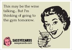 This may be the wine talking... But ...