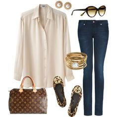 @Esmirie Nagel  the shirt looks ok... but doesn't have to be the same style... and it can be a different color and the jeans are nice too... if you could get a nice one