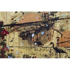 Marmont Hill Aquaduct by Tracy Silva Barbosa Painting Print on Canvas, Size: 24 inch x 16 inch, Multicolor