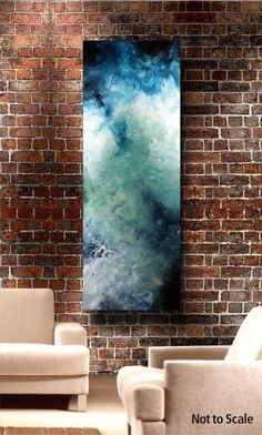 Unique Fluid Huge Abstract Painting. Free by IgorTurovskiyArt, $775.00