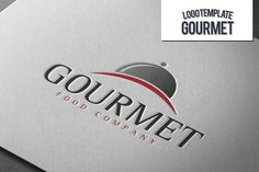 Gourmet Logo by Exit3 on @creativemarket