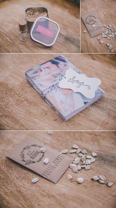 DIY Photographer USB Wedding Packaging - let love grow