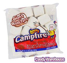 Campfire Giant Roasters Marshmallows: 20-Ounce Bag