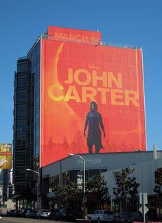 John Carter major signage!
