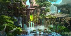 ArtStation - uni chen's submission on Ancient Civilizations: Lost & Found - Environment Design