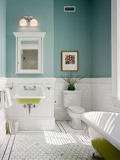 19 bath updates vintage paint colorswall