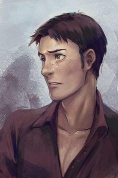 Oh God, I love Marco. why him, Isayama? - Marco bodt shingeki no kyojin<< He's pure evil in human form! Levi X Eren, Levi Ackerman, Armin, Attack On Titan, Manga Anime, Anime Nerd, Aot Anime, Real Anime, Hot Anime Guys