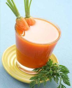 suco com cascas de cenoura - Foto Getty Images