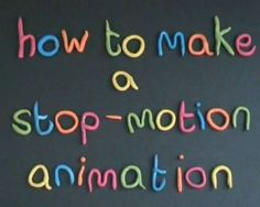 Here is a superb instruction video useful for students on how to make stop-motion animation! It was made by Catherine Elliott, the training manager at Sheffield South City Learning Centre. (some ot… High School Art, Middle School Art, Animation Image Par Image, Stop Motion Movies, Animation Stop Motion, Stop Frame Animation, 21st Century Learning, Teaching Art, Teaching Theatre