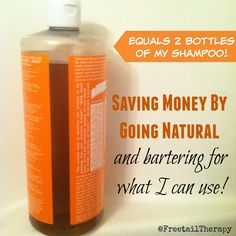 Saving Money by Going Natural - Freetail Therapy Going Natural, Money Tips, Cleaning Hacks, Saving Money, Household, Therapy, Nature, How To Make, Save My Money