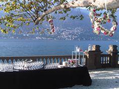 Your Wedding Reception can be simply stunning #CastaDiva #Resort & #Spa