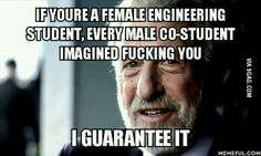 For all the female enginering students out here