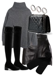 """""""Untitled #3379"""" by theeuropeancloset on Polyvore featuring Moschino, Free People, Monki, MANGO and ASOS"""