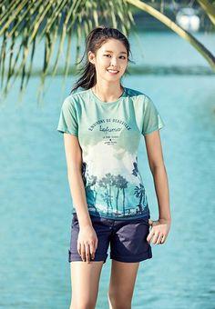 Photo )) Cha EunWoo & SeolHyun for S/S Collection of Lafuma Kpop Girl Groups, Kpop Girls, Korean Beauty, Asian Beauty, Raw Beauty, Kim Seolhyun, South Korean Women, Dramas, Sexy Asian Girls