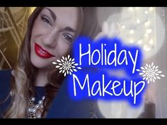 Classic Holiday Makeup Look| +Bouncy Ombre Curls Nichole Jacklyne♡ - YouTube
