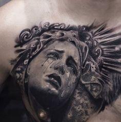 The Photorealist Tattoos of Paolo Murtas