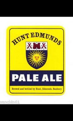 Hunt Edmunds of Banbury Ale, Lost, Canning, Ale Beer, Home Canning, Ales, Conservation, Beer