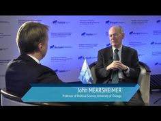 John Mearsheimer: We are Moving to a Multipolar World with Three Great P...https://www.foreignaffairs.com/articles/russia-fsu/2014-08-18/why-ukraine-crisis-west-s-fault