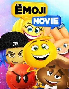The EMOJI MOVIE Coloring Book: Fun Coloring Book for Kids, Teens, and Adults, 31 Pages. Emoji Movie, Smileys, Emoticon, Color Yellow, Coloring Books, Pikachu, Teen, Orange, Kids
