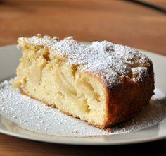 Deléitate con esta torta de manzanas y nueces