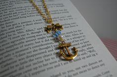 Sailor Chic - Anchor Necklace £8.00 by Avec Amour Lauren on Etsy www.etsy.com/shop/AvecAmourLauren