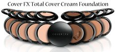 Cover FX Total Cover Cream Foundation Review via @Phyrra #vegan #crueltyfree
