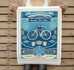Ready, Set, Bike Poster