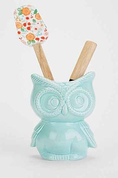 Owl Kitchen Canister   Urban Outfitters