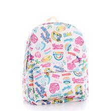 Promoção 2015 qualidade mochila feminina Canvas adolescente School bolsas dos desenhos animados grafite coreano moda à prova d ' água mochilas Laptop(China (Mainland))
