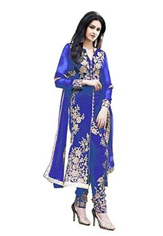 StarMart Beautiful Arjan Georgette Salwar Kameez Semi Stitched Suit -308 BLUE StarMart http://www.amazon.in/dp/B014SF7ZZA/ref=cm_sw_r_pi_dp_3t2lwb08B8Z90