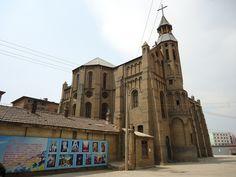 catholic churches in china   Catholic Church, Hohhot, Inner Mongolia, China