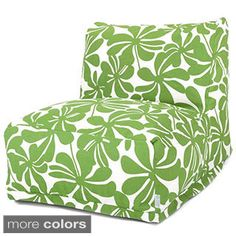 Combining modern design and classic bean bag comfort, the Majestic Home Goods Plantation Chair Lounger makes a stylish functional addition to indoor and outdoor living areas. Durable, machine washable cover is woven from outdoor-treated polyester. Bean Bag Lounger Chair, Bean Bag Sofa, Cool Bean Bags, Classic Bean Bags, Outdoor Bean Bag, Boutique, Slipcovers, Modern Furniture, Houses