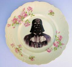 Dark Lord, Darth Vader Portrait Plate