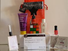 Be.You.tiful: The SUPER Secret Bag - Review by Be.You.Tiful  http://cleniadaniel.blogspot.pt/2013/07/TheSecretBagReview.Be.You.Tiful.html#more