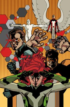 All New X-Men by Stuart Immonen