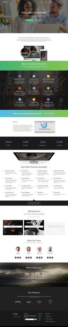 Intense - Multipurpose Website Template http://www.templatemonster.com/intense-multipurpose-html-template.html