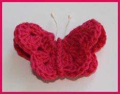 Miss AD: DIY hæklet sommerfugl