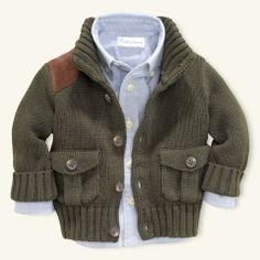 Riding Cardigan - Layette Tops & Bottoms - RalphLauren.com