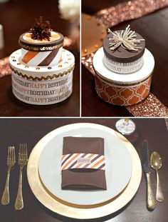 love the idea of making cakes out of round boxes