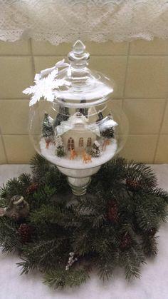 Christmas Apothecary Jar 2014