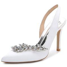 Women's+Sandals+Summer+Fall+Slingback+Club+Shoes+Silk+ · Stiletto  HeelsStilettosSummer ...