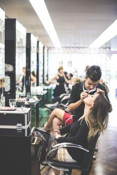Luiza Guimarães no Bureau de estilo Tif's,   encontro de beleza que acontece a cada temporada, reunindo bloggers e formadoras de opinião.  Foto by Leca Novo.