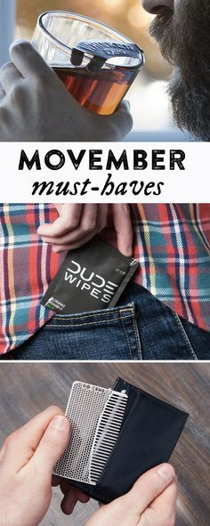 These Movember must-haves are the perfect gifts for your moustache man.