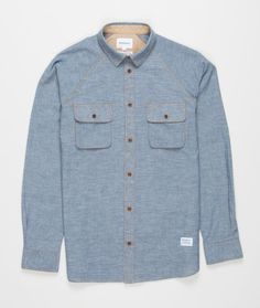 Norse Projects Benno Work Chambray