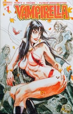 Vampirella #1 Sketch Cover (Dan Brereton) Comic Art Fans